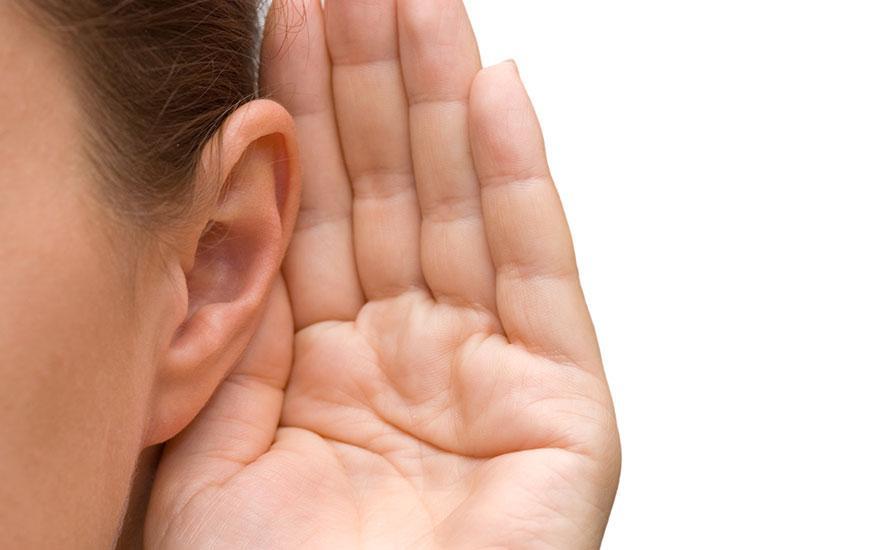 słyszenie